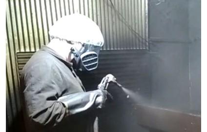 Нанесение полиуретана на металл - Фото