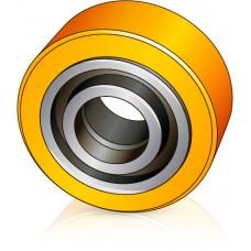 100 - 40 мм Опорное колесо для вилочных погрузчиков, штабелеров Linde  - Изображение