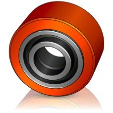 100 - 40 мм Опорное колесо YALE 580037736 для вилочных погрузчиков, тележек - Изображение