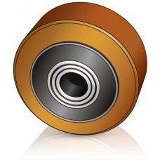 100 - 40 мм опорное колесо для штабелеров и гидравлических тележек Jungheinrich - Изображение