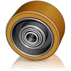 100 - 40 мм Опорное колесо LINDE 0009933800 для вилочных погрузчиков, электротележек - Изображение