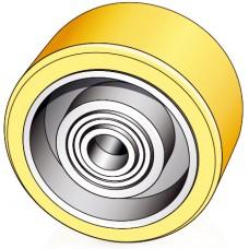 100 - 40 мм опорный ролик Mic 65058000 для погрузчиков, тележек Jungheinrich - Изображение