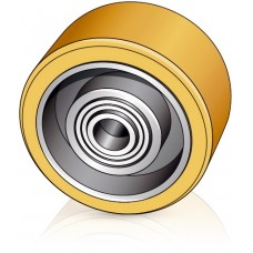 100 - 40 мм Опорное колесо Still 8410988 для вилочных погрузчиков, электротележек - Изображение