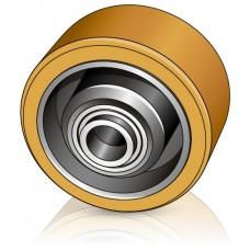 125 - 50 мм Опорное колесо Jungheinrich 50464813 для вилочных погрузчиков, штабелеров - Изображение
