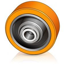 125 - 50/54 мм опорное колесо Crown 807270 для вилочных погрузчиков, штабелеров  - Изображение