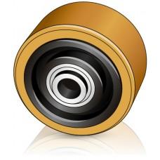 125 - 60 мм Опорный ролик Linde 50983508931 для вилочных погрузчиков, штабелеров - Изображение