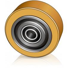 150 - 50 мм Стабилизирующий ролик Linde 0009903800 для электрических тележек - Изображение