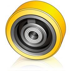 150 - 54 мм Опорное колесо Still 4412343 для вилочных погрузчиков, штабелеров - Изображение