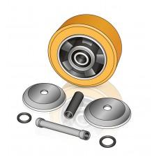 150 - 54 мм Опорное колесо Jungheinrich 77800065 для вилочных погрузчиков, штабелеров - Изображение