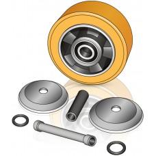 150 - 60 мм Опорное колесо BT 7517717 для вилочных погрузчиков, тележек, штабелеров - Изображение