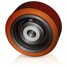 150 - 60 мм Опорное колесо для вилочных погрузчиков, штабелеров Rocla, Crown - Изображение