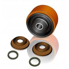 150 - 76/81 мм Опорное колесо BT 7509579 для комплектовщиков, штабелеров - Изображение