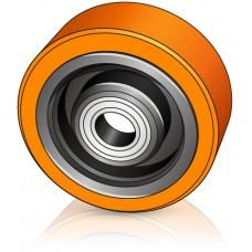 152 - 60 мм Опорное колесо для вилочных погрузчиков, штабелеров HYSTER, YALE - Изображение