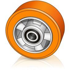 180 - 60 мм Опорное колесо Jungheinrich 27626480 для вилочных погрузчиков, штабелеров - Изображение
