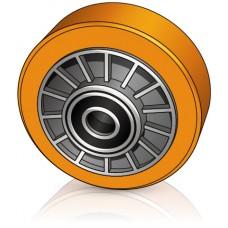 180 - 75 мм Опорное колесо для вилочных погрузчиков, штабелеров Jungheinrich - Изображение