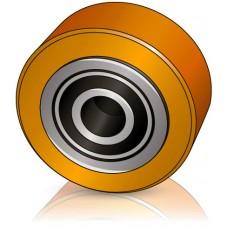 95 - 50 мм опорное колесо для вилочных погрузчиков, электротележек OM Pimespo - Изображение