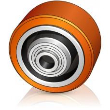 125 - 54 мм Опорное колесо для вилочных погрузчиков, штабелеров, тележек Lafis - Изображение