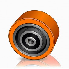 140 - 60 мм Грузовое колесо Linde 0039903529 для вилочных погрузчиков - Изображение