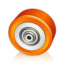 122 - 60 мм Опорное колесо Komatsu 452108003 для вилочных погрузчиков, штабелеров - Изображение