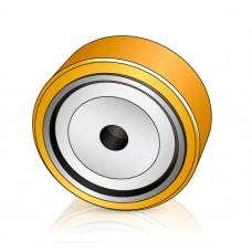 125 - 25 мм опорное колесо BT 7563322 для вилочных погрузчиков, электротележек - Изображение