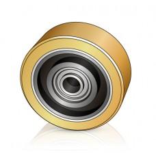 125 - 60/62 мм Опорное колесо Crown 813130 для вилочных погрузчиков, штабелеров - Изображение