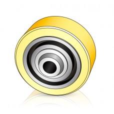 140 - 50 мм Опорное колесо Linde 0039933811 для штабелеров и электротележек - Изображение