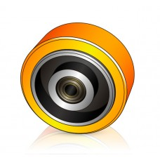 140 - 54/60 мм Опорное колесо Crown 810974-003 для вилочных погрузчиков, штабелеров - Изображение