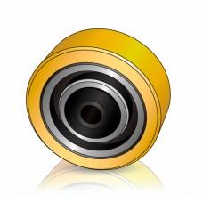 125 - 50 мм Опорное колесо для транспортировщиков паллет, электротележек Hyster