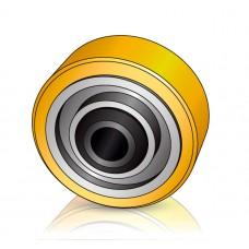 125 - 60 мм Опорное колесо Crown 832689 для вилочных погрузчиков, штабелеров - Изображение