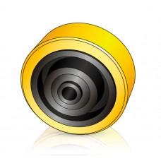 150 - 40/55 мм Опорное колесо BT 247504 для штабелеров, тележек - Изображение