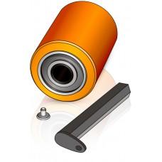 85 - 100/102 мм Подвилочный ролик Linde 0009903555 для вилочных погрузчиков, штабелеров - Изображение