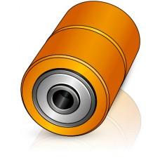 85 - 110/115 мм ролики для вил Jungheinrich 50016428 для электрических тележек - Изображение