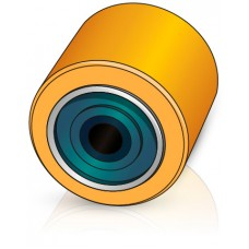 85 - 86,5/89 мм подвилочный ролик Still 4190121 для вилочных погрузчиков, тележек