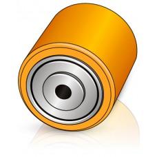 90 - 100 мм Подвилочный ролик Jungheinrich 51056309 для электротележек - Изображение
