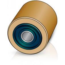 85 - 75/80 мм ролик Linde 0009903531 для вилочных погрузчиков, штабелеров - Изображение