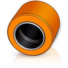 82 - 55 мм несущий ролик, для вилочных погрузчиков, тележек Still / Linde - Изображение