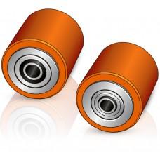82 - 90 мм Несущий ролик для гидравлических тележек Still, Noblelift, ZAKREM - Изображение
