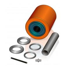 85 - 110/115 мм Подвилочный ролик Hyster 4081700 для погрузчиков - Изображение