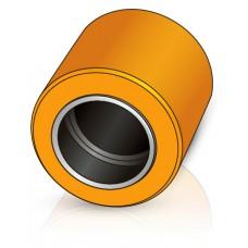 85 - 40-95 мм несущий ролик, для вилочных погрузчиков, тележек Lafis - Изображение