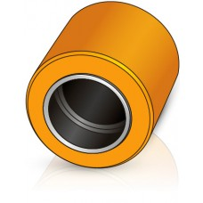 85 - 75 мм несущий ролик, для вилочных погрузчиков, тележек Rocla - Изображение