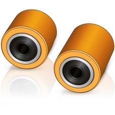 85 - 78/104 мм грузовой ролик для вилочных погрузчиков, электротележек Lafis - Изображение