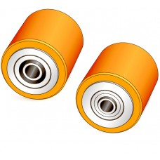 80 - 95 мм Подвилочный ролик для тележек и штабелеров BT