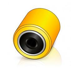 85 - 60/64 мм ролик для вил Linde 0039903500 для штабелеров и тележек - Изображение