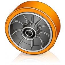 170 - 51,7 мм Рулевое колесо Jungheinrich 50114059 для гидравлических тележек, рокл - Изображение