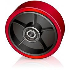 200 - 50/57-20 мм переднее рулевое колесо для тележек - Изображение