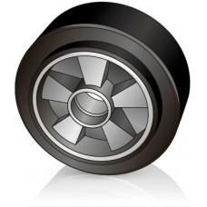 200 - 50 мм Рулевое колесо Yale 20210286 для гидравлических тележек, роклы - Изображение
