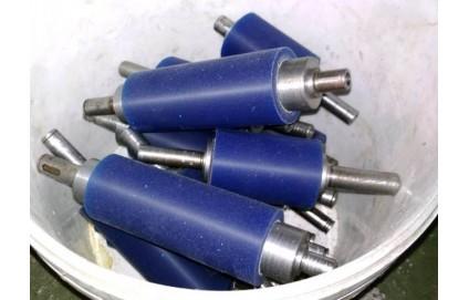 Обрезинивание валов полиуретаном - Фото