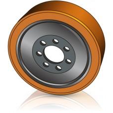 343 - 110/114-80 мм Ведущее колесо 7 отверстий Jungheinrich 50030509 для ричтраков и штабелеров - Изображение