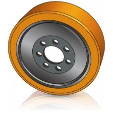 343 - 114 мм Ведущее колесо 7 отверстий Yale 277058300 для ричтраков и штабелеров - Изображение