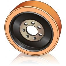 343 - 135 мм  Ведущее колесо 7 отверстий Linde 9815054219 для ричтраков - Изображение